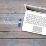 Stockage données: utilisez une clé USB