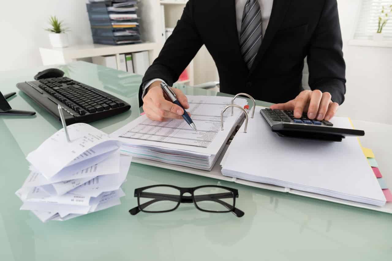 Un comptable immobilier en Belgique